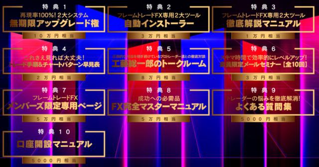 フレームトレードFX・10大特典.PNG